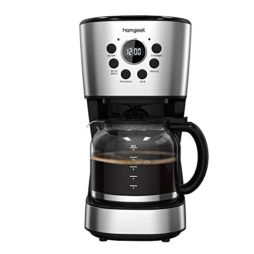 Homgeek 12-Cup Coffee Maker