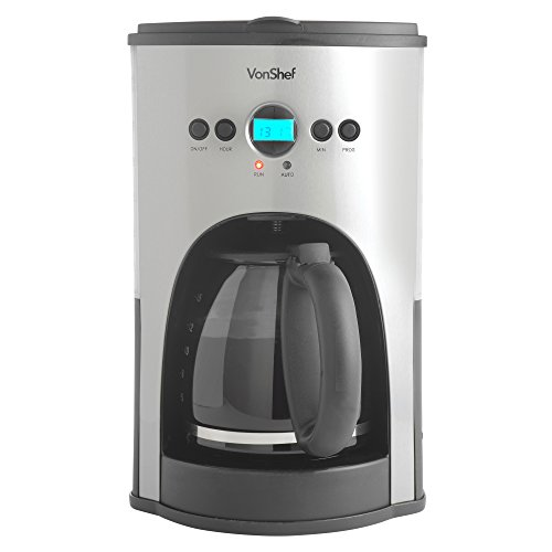 VonShef Programmable Digital Coffee Maker