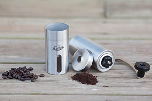 JavaPresse Manual Coffee Grinder with Conical Burr Mill